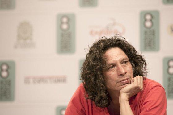El escritor antioqueño Luis Miguel Rivas