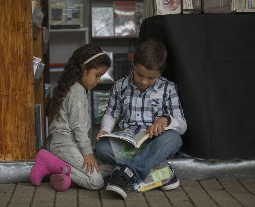 Un jardín para cultivar la lectura