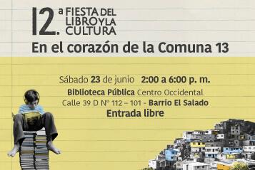 La Fiesta del Libro y la Cultura, en el barrio El Salado – Comuna 13