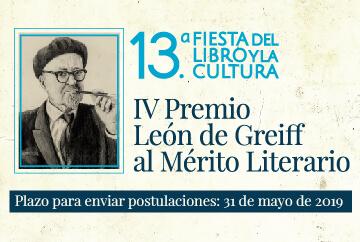 IV Premio León de Greiff al Mérito Literario