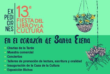 La 13.ª Fiesta del Libro y la Cultura en el corazón de Santa Elena