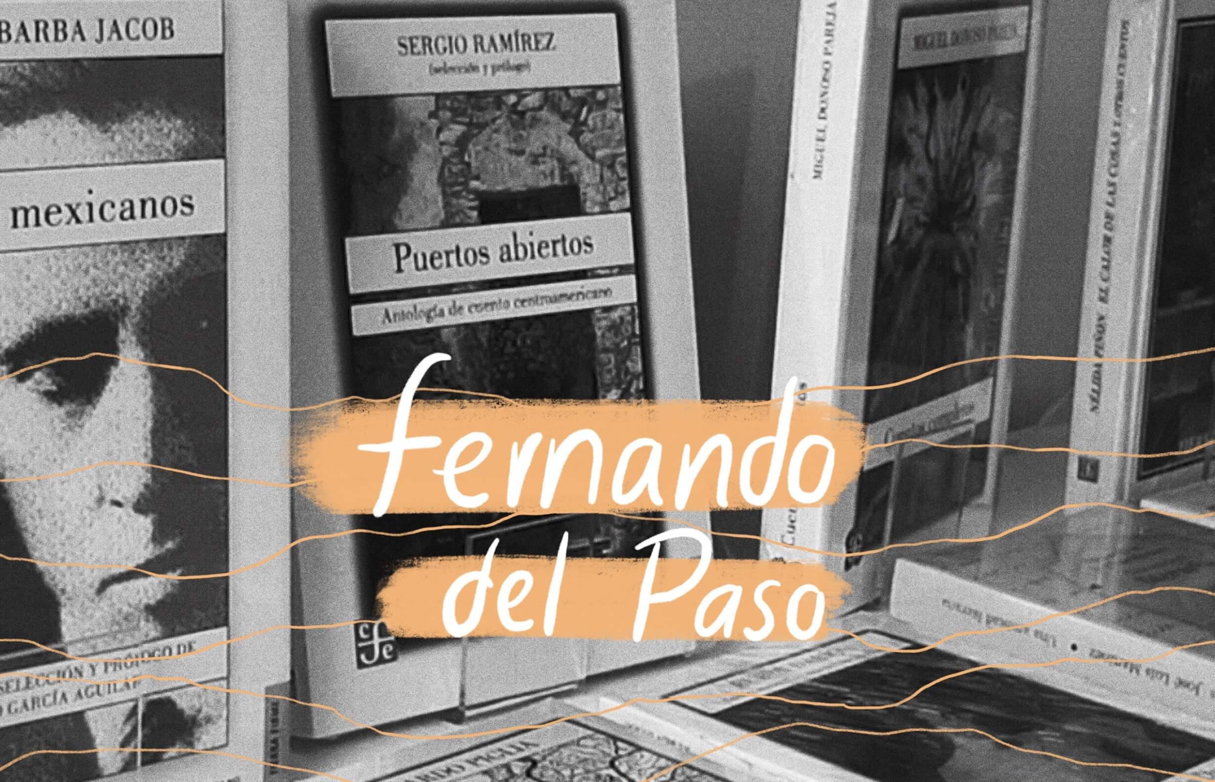 Fernando del Paso una librería con alma